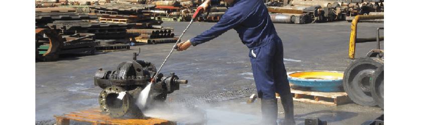 شستشوی قطعات صنعتی